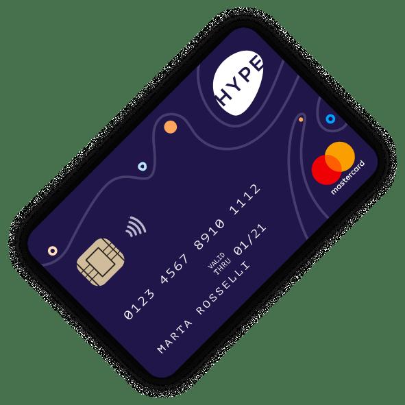carta prepagata senza conto corrente hype