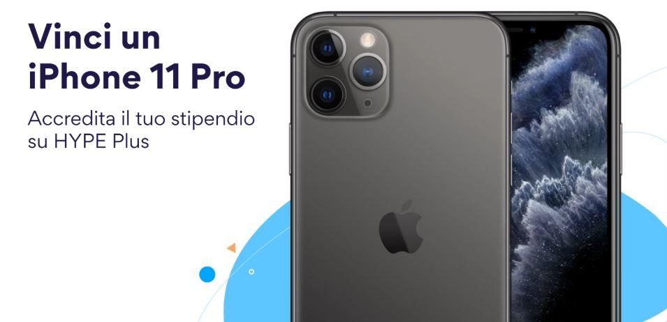 vinci un iphone 11 pro con hype