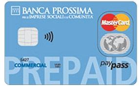banca prossima prepaid