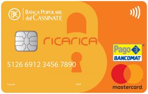 carta ricarica inbank