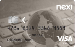 nexi prepaid visa