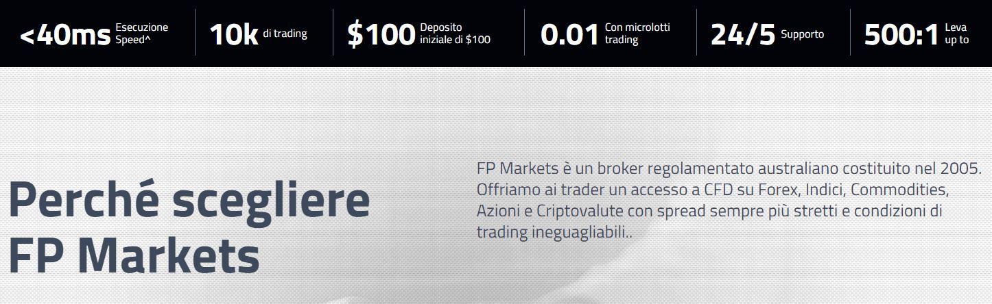 perchè scegliere fp markets