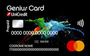 unicredit genius card