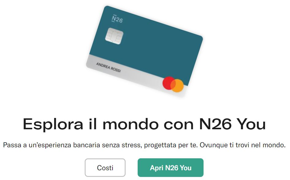 benefici n26 you