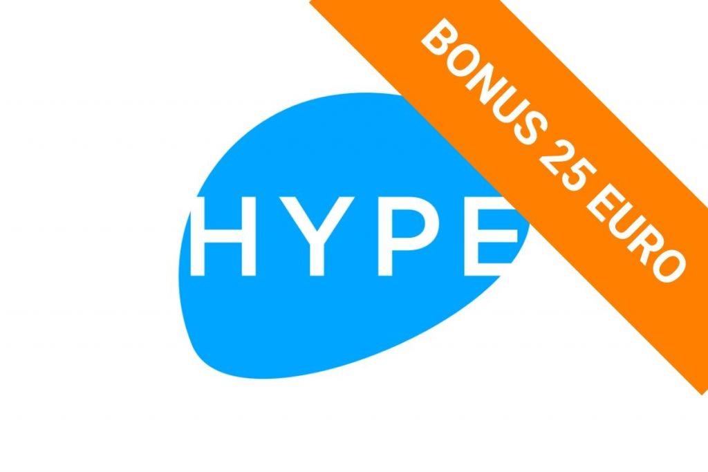 bonus hype 25 euro