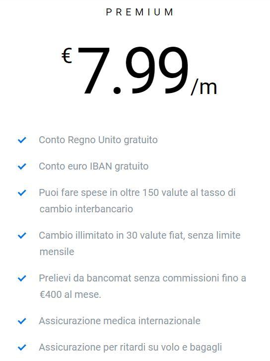 costi revolut premium