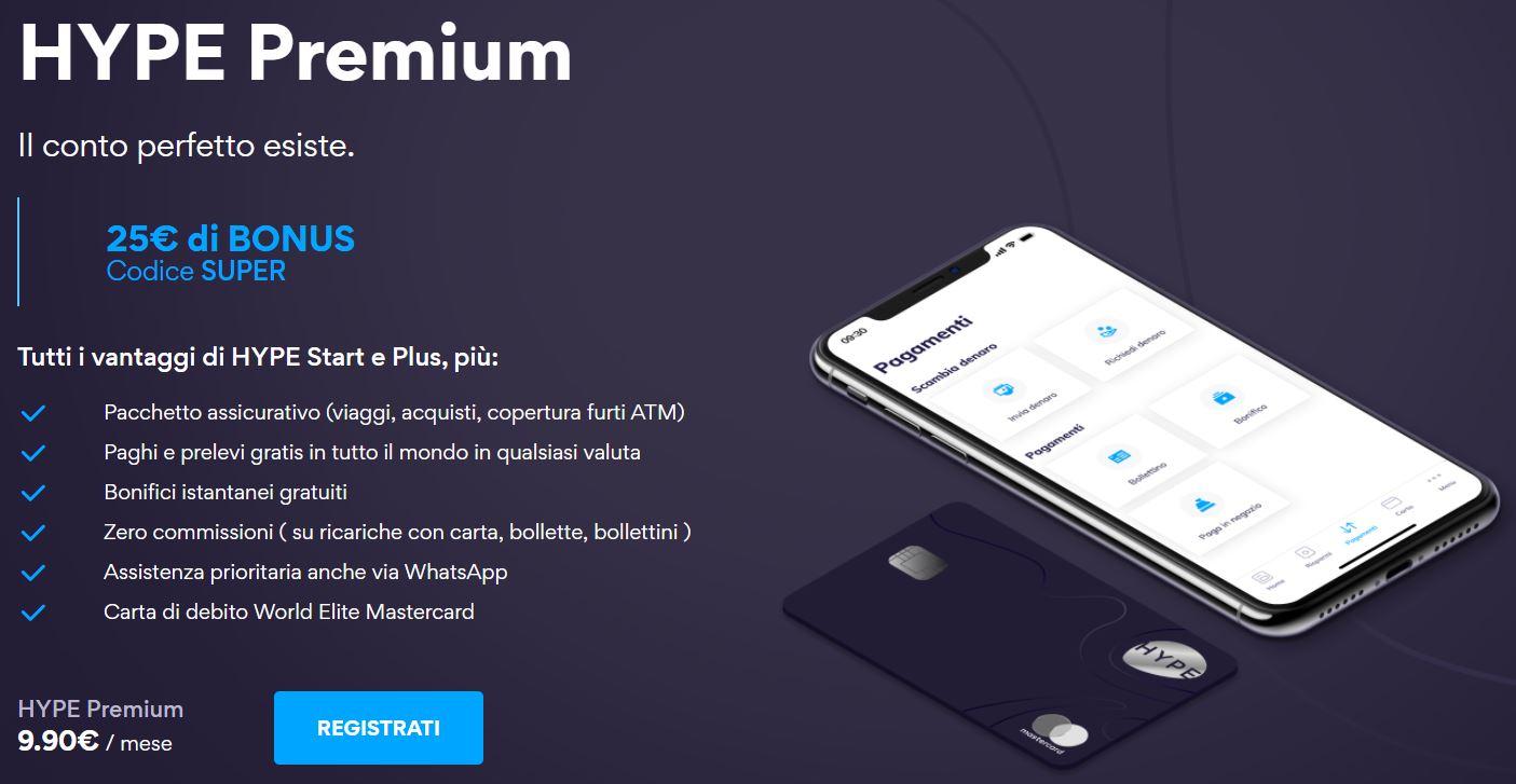 hype premium bonus