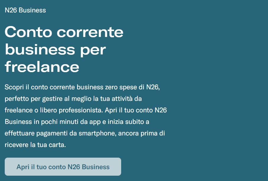 n26 business cose