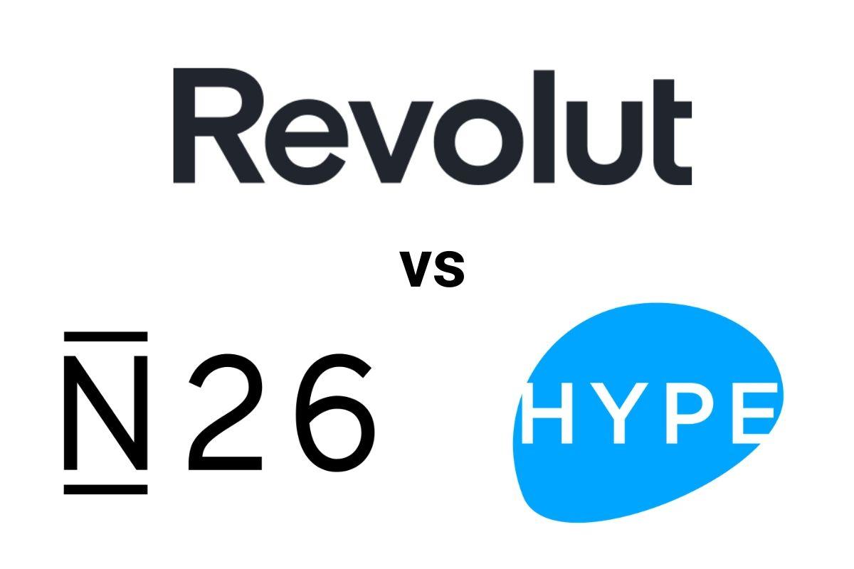 n26 vs hype vs revolut