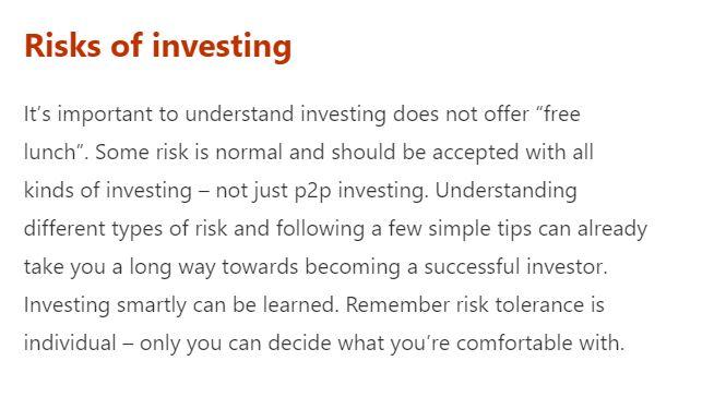 rischi mintos