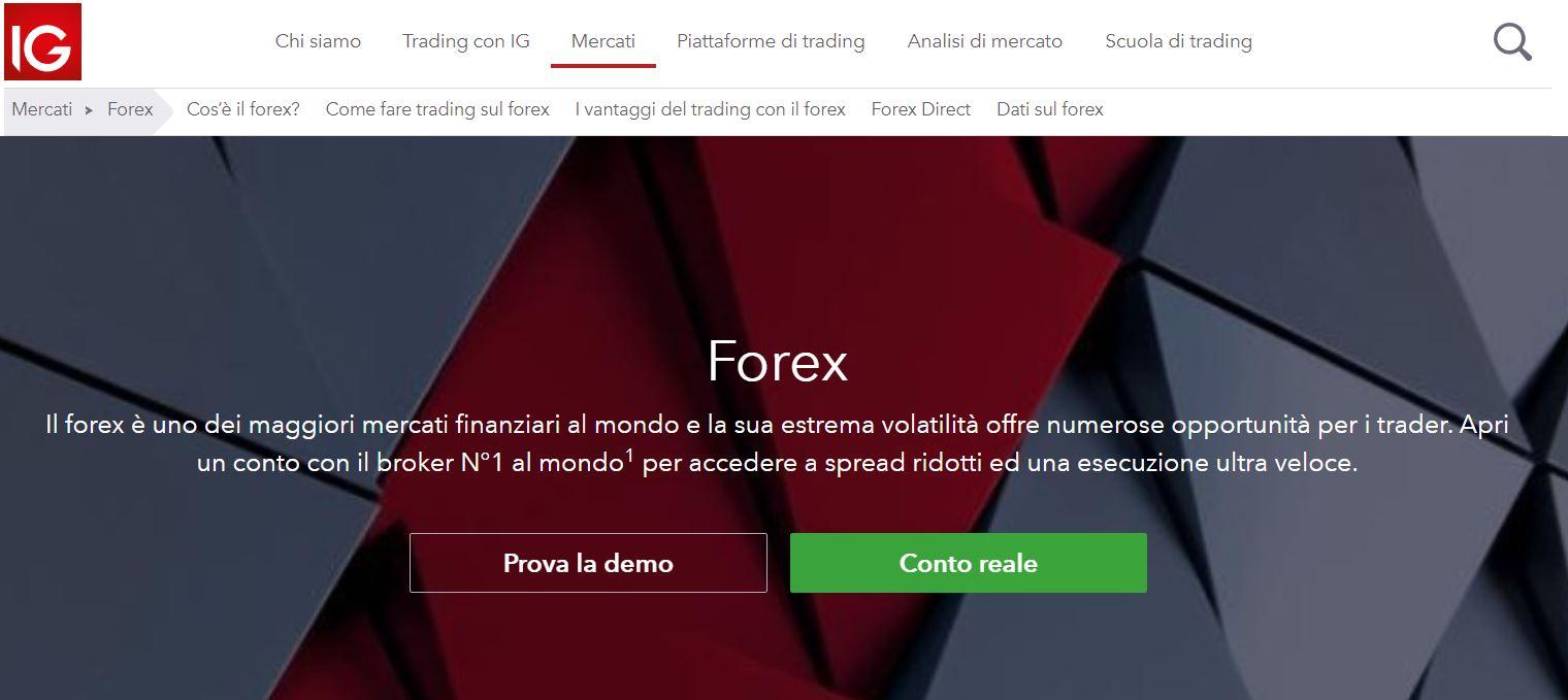 broker forex ig