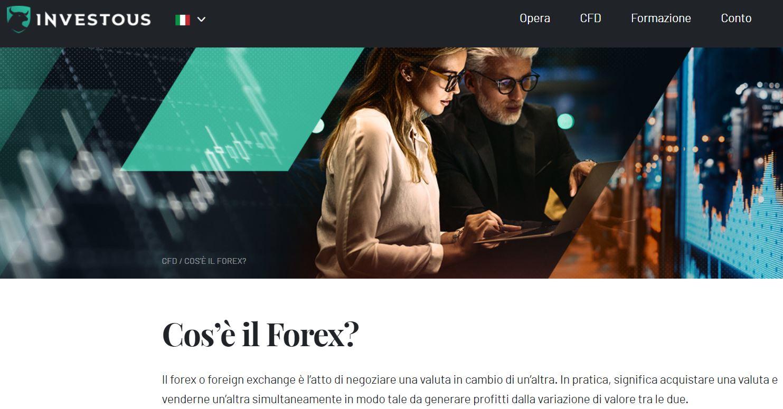 broker forex investous