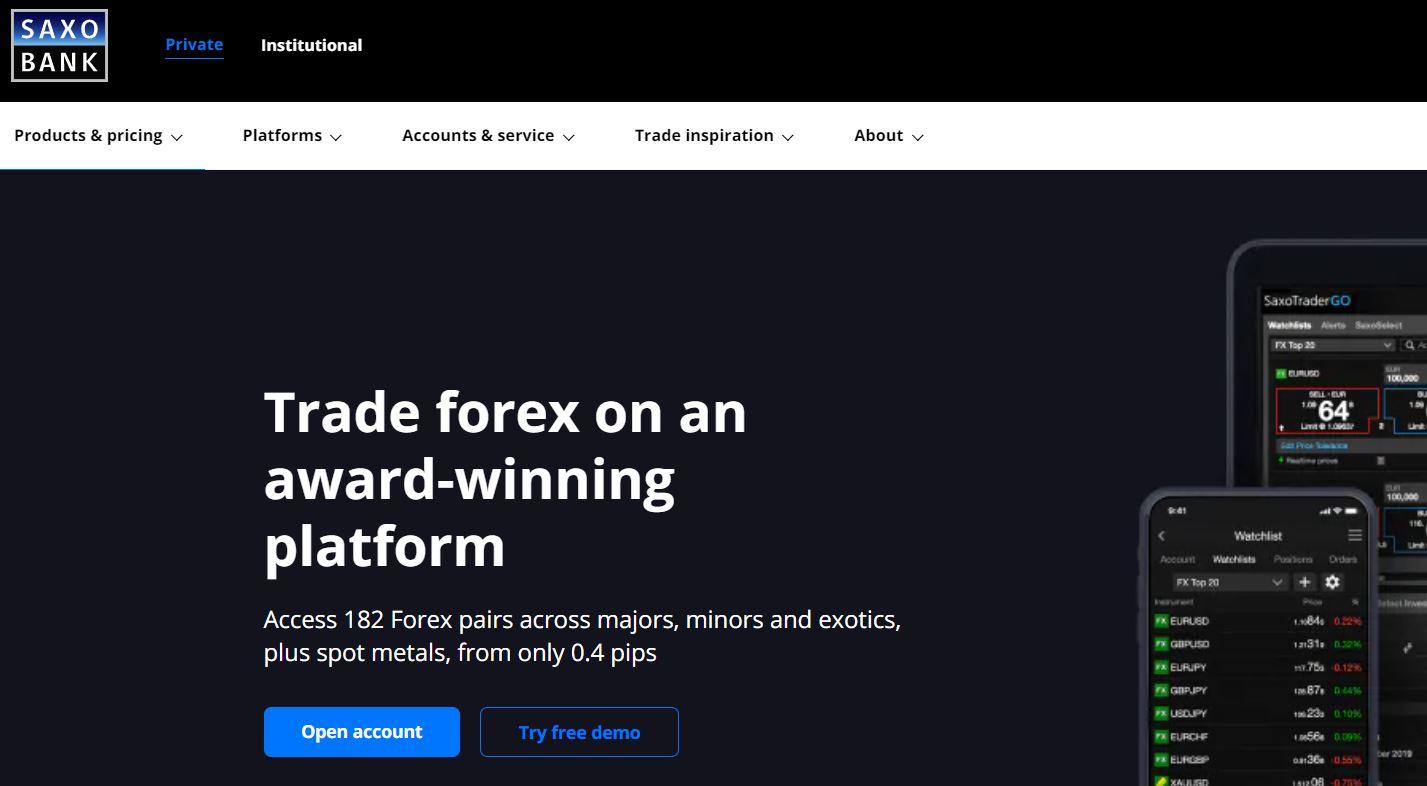 broker forex saxobank