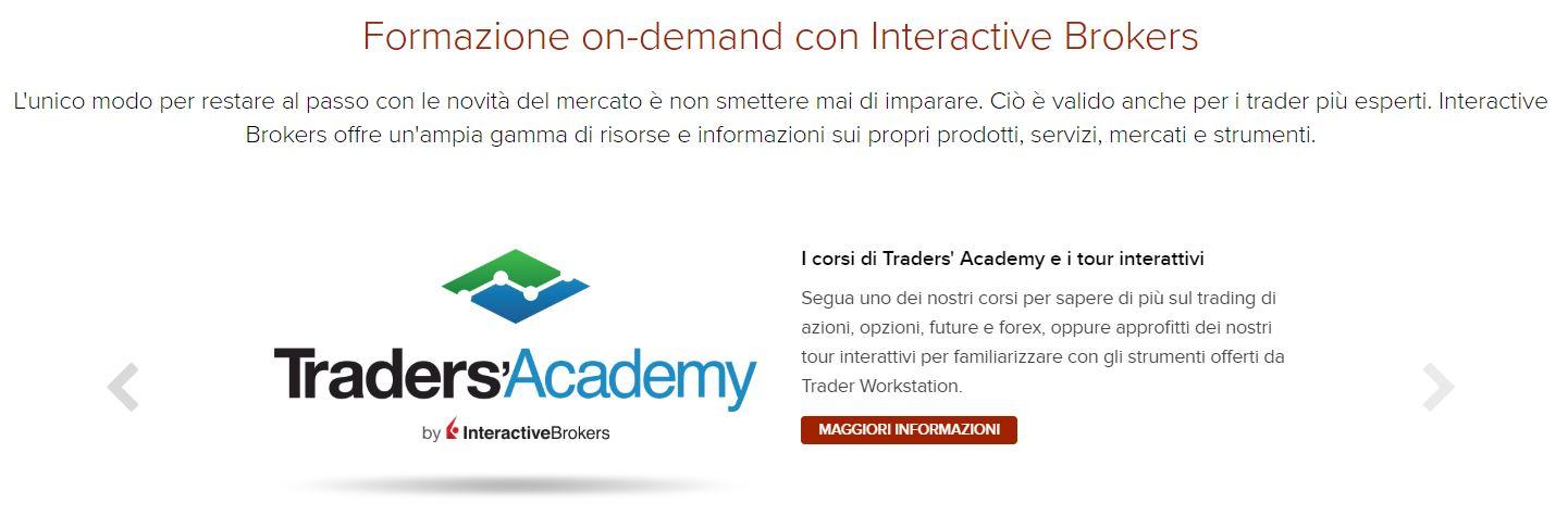 formazione interactive brokers