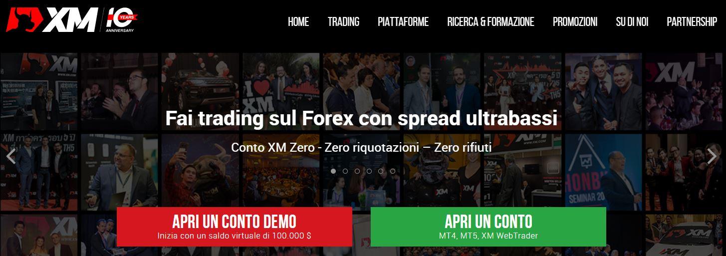 xm piattaforma trading forex