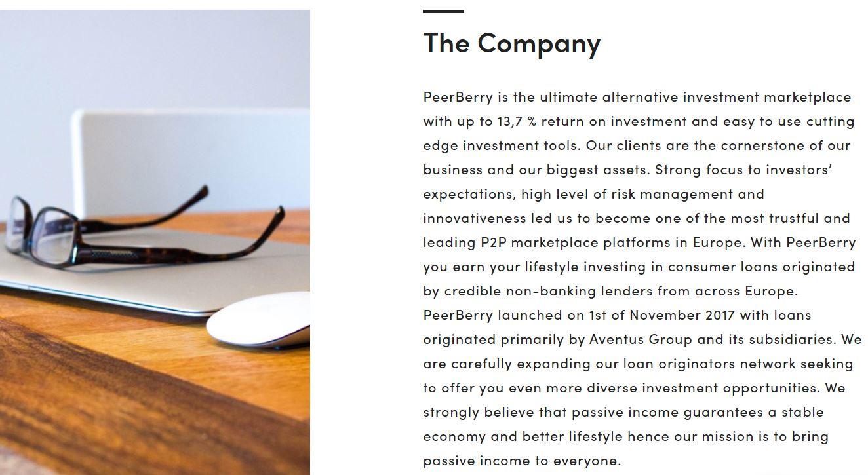 garanzia buyback peerberry
