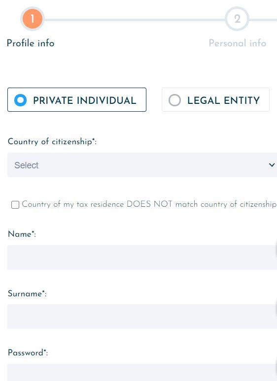 registrazione viainvest