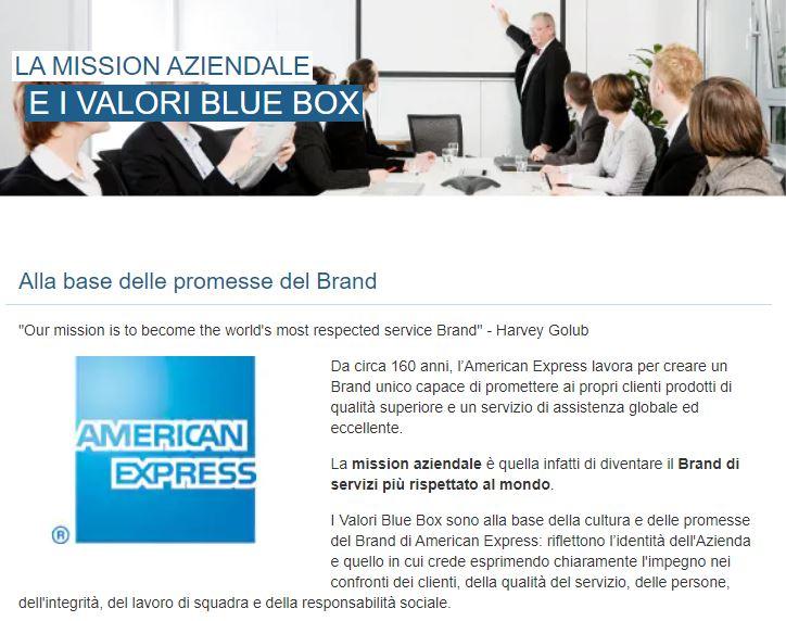 american express blue box