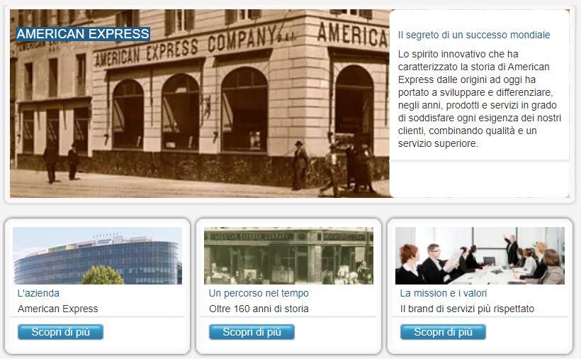 american express storia