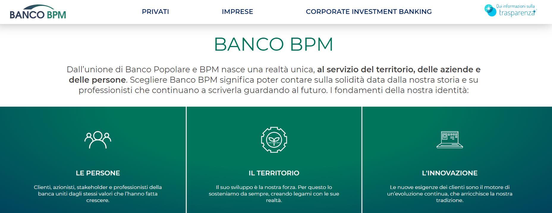 banco bpm banca italiana