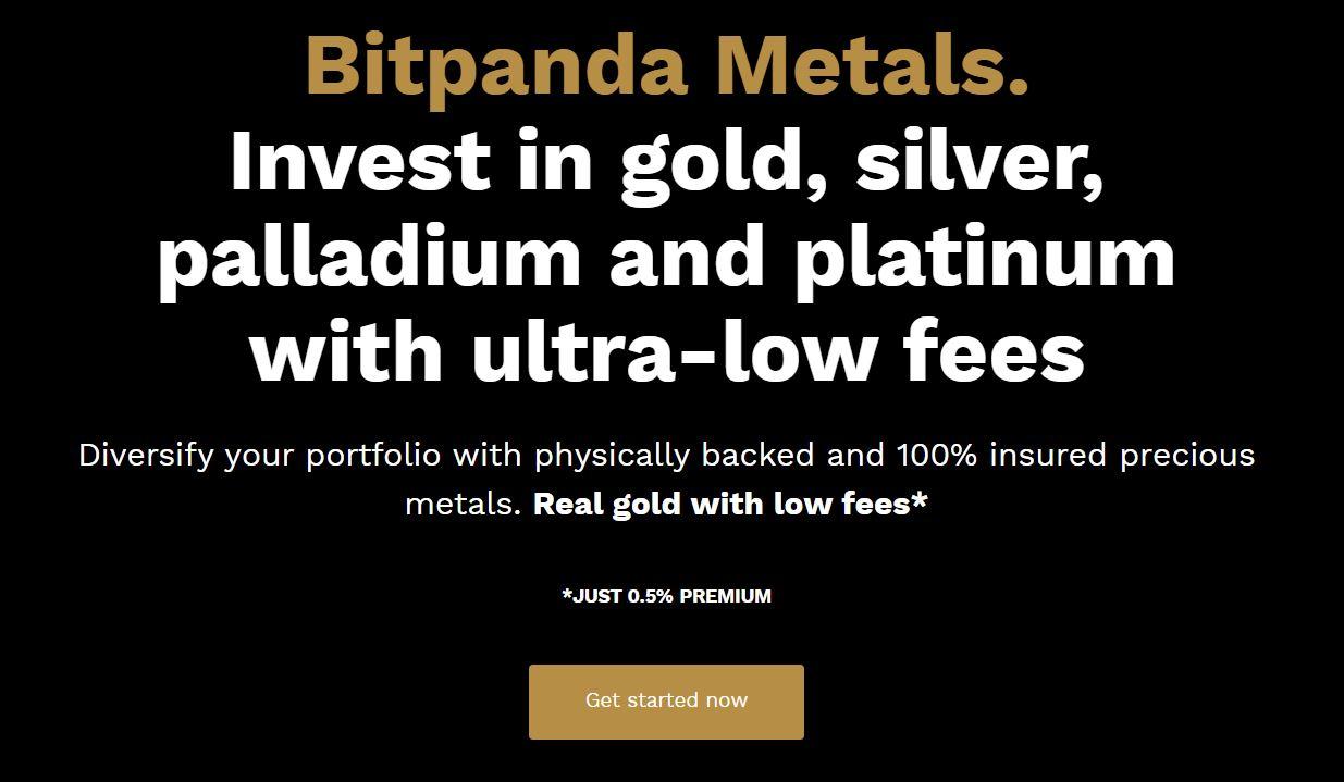 bitpanda oro argento