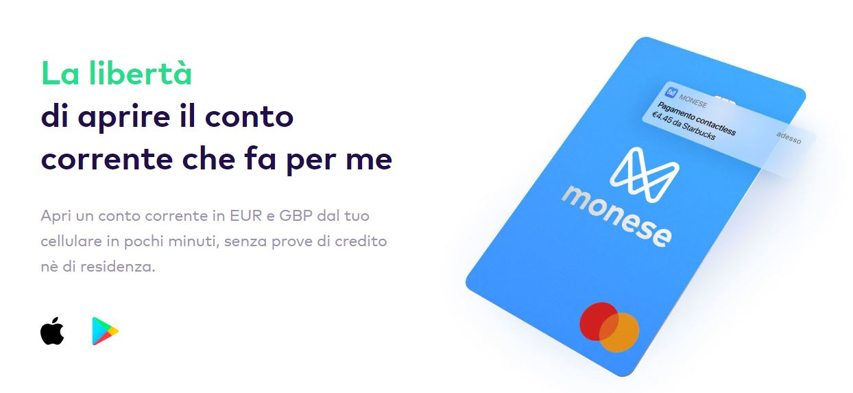 carta conto monese