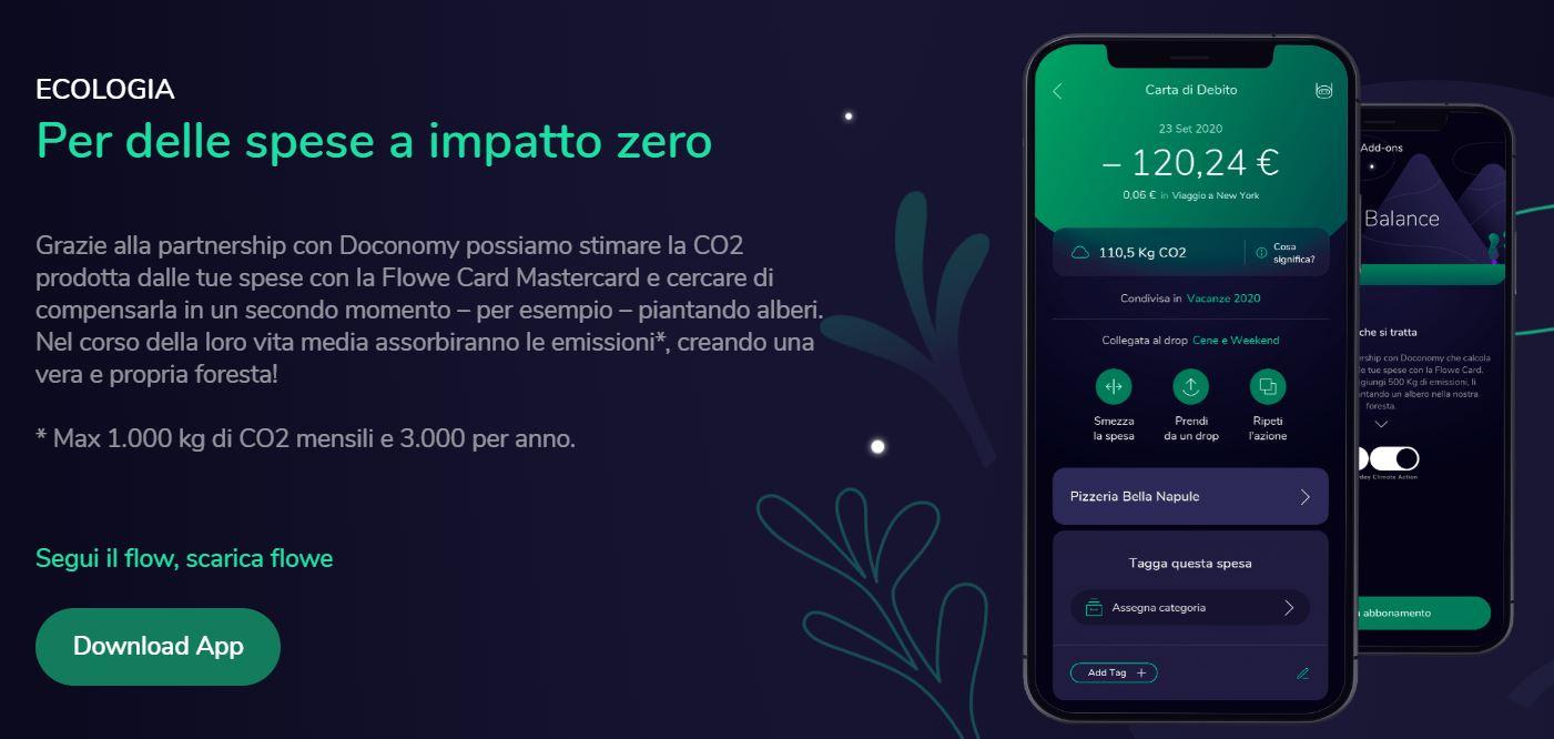 conto flowe zero emissioni