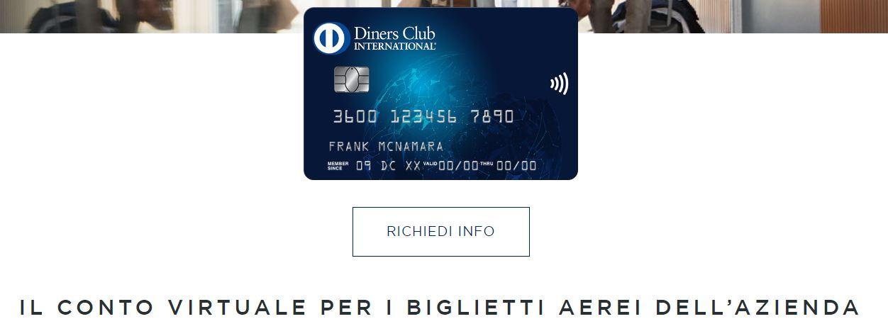 conto viaggi diners club