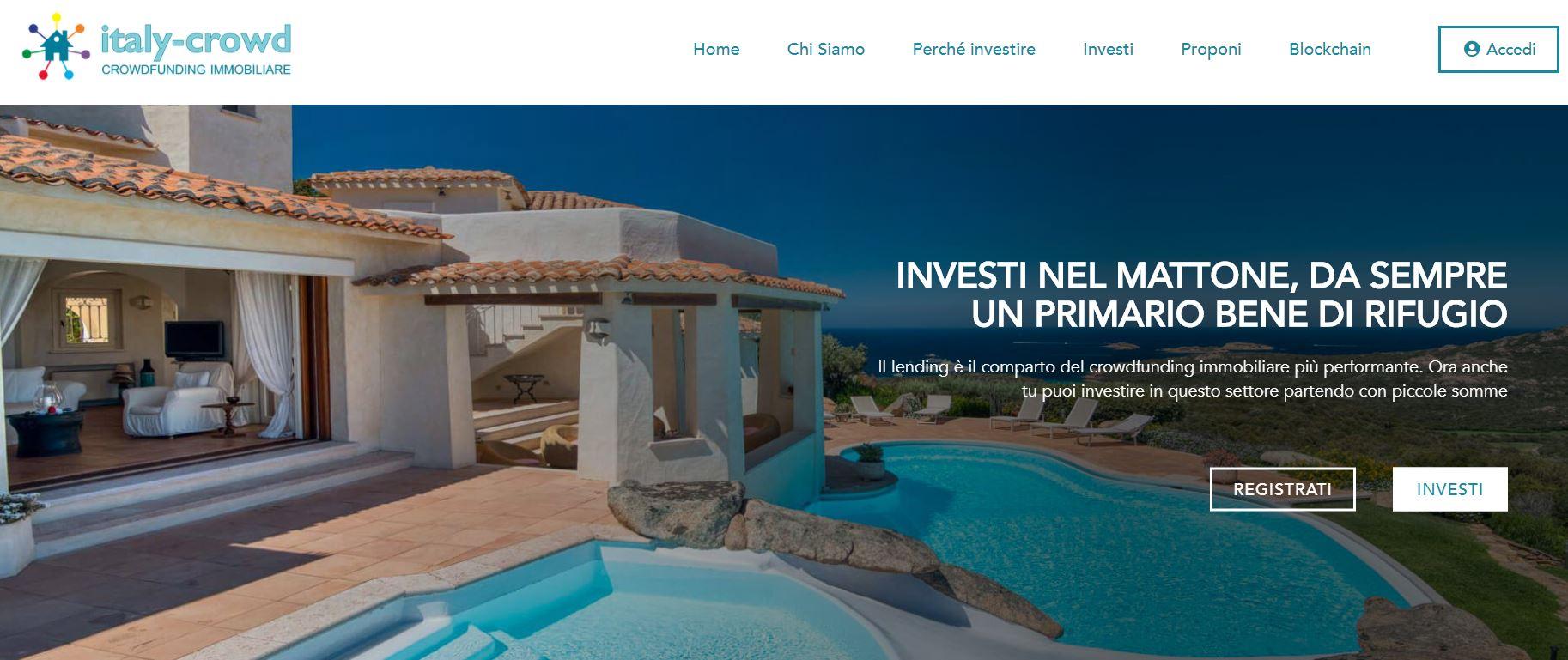 italy crowd crowdfunding immobiliare