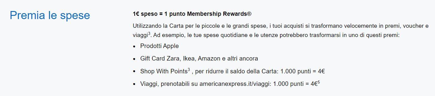 membership rewards american express