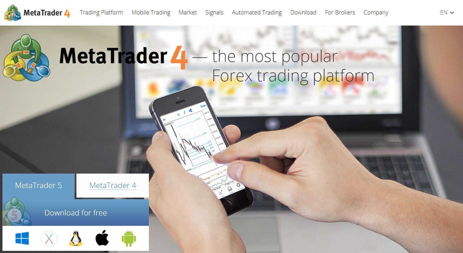 metatrader4 tradingview