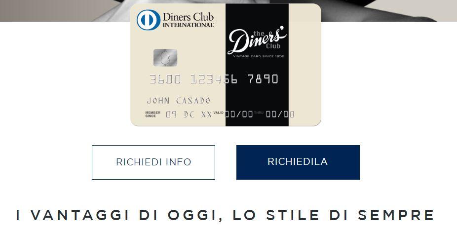 new vintage diners club