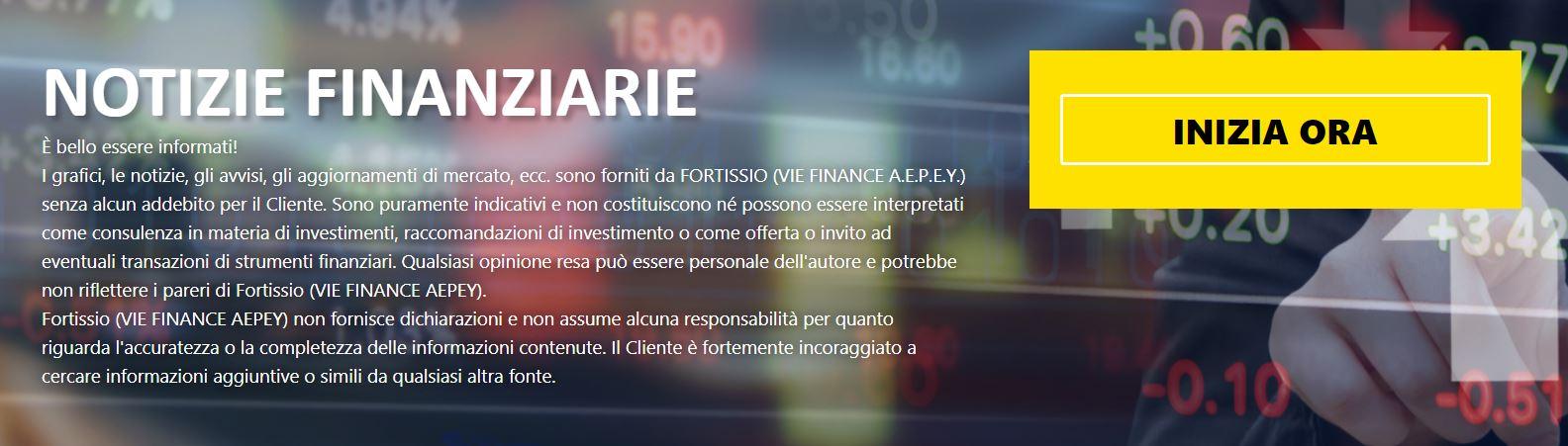 notizie finanziarie fortissio