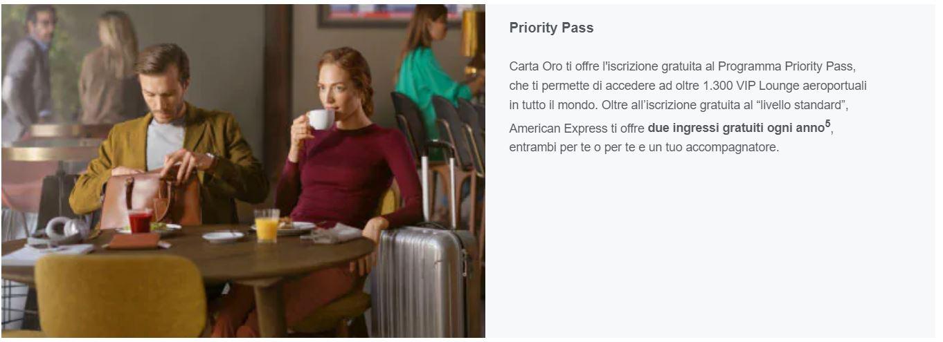 prority pass american express