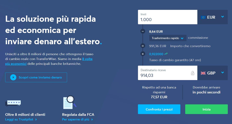 app trasferire denaro online