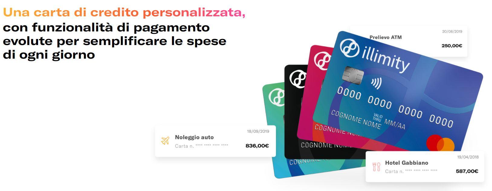 carta credito mastercard come richiedere