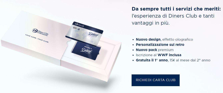 carta di credito a saldo senza conto corrente