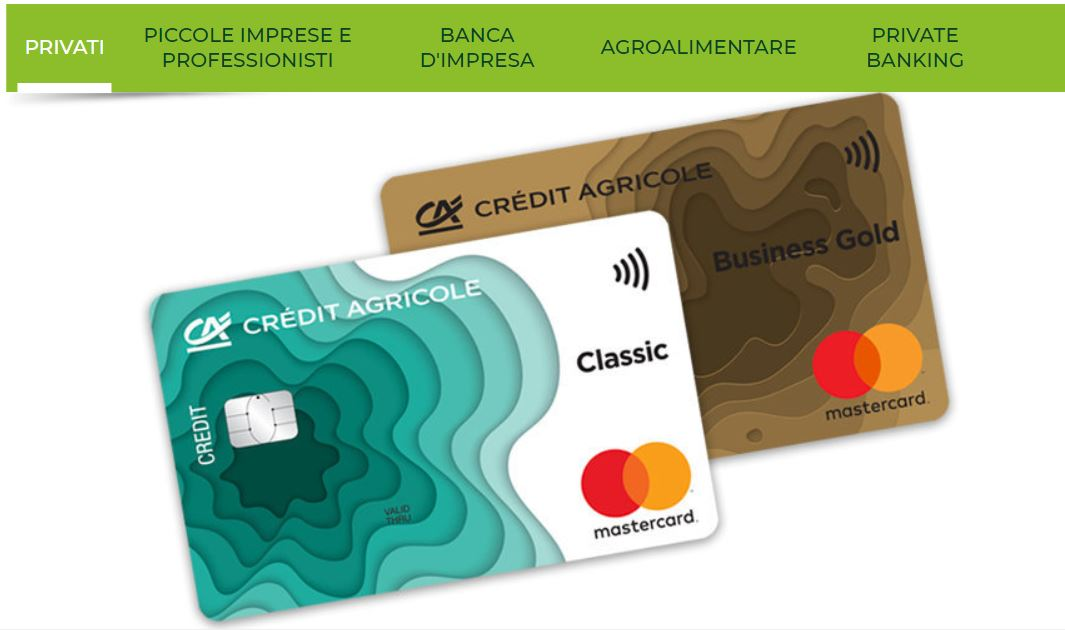 carta di credito visa nexi gold