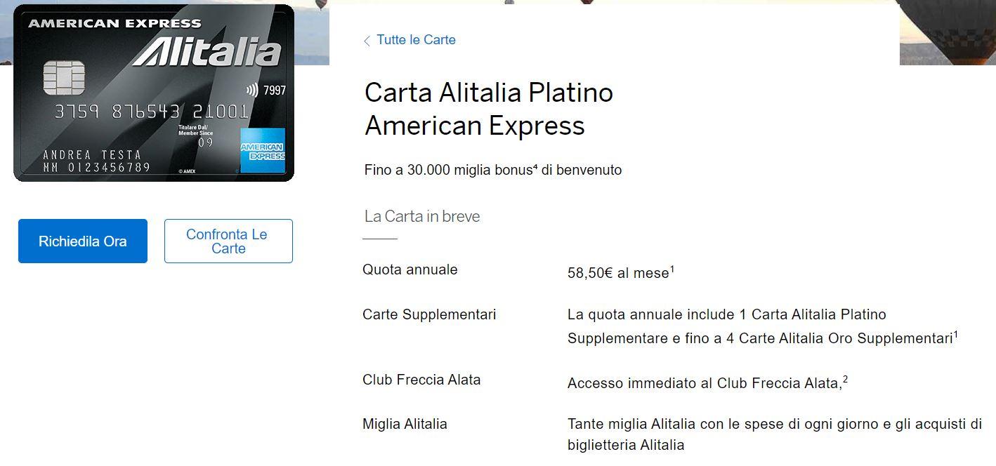 migliore carta di credito in italia
