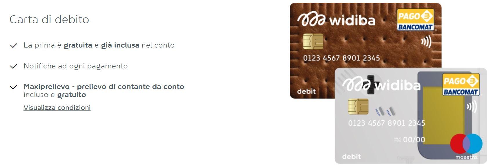 migliore carta di debito