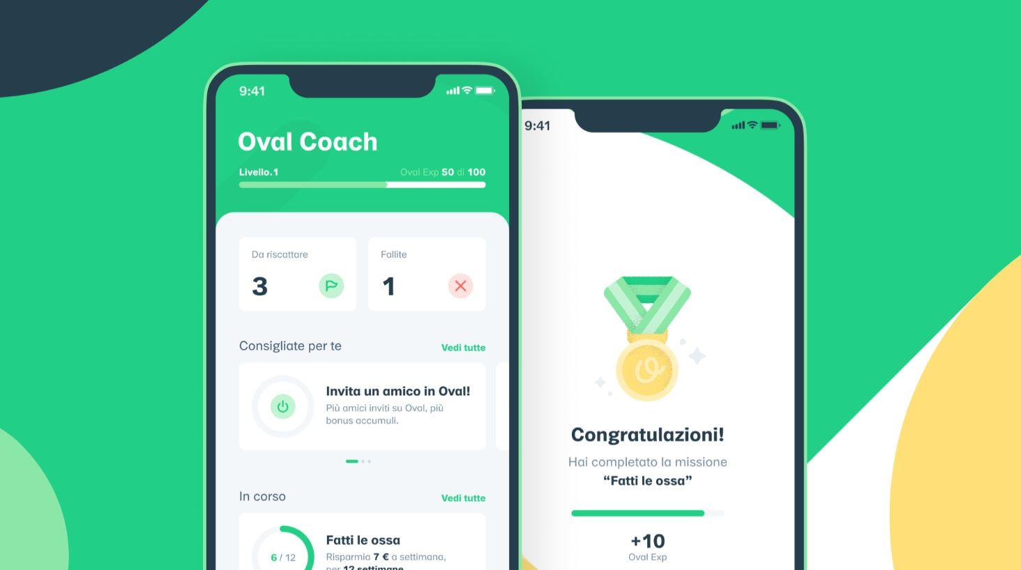 oval coach