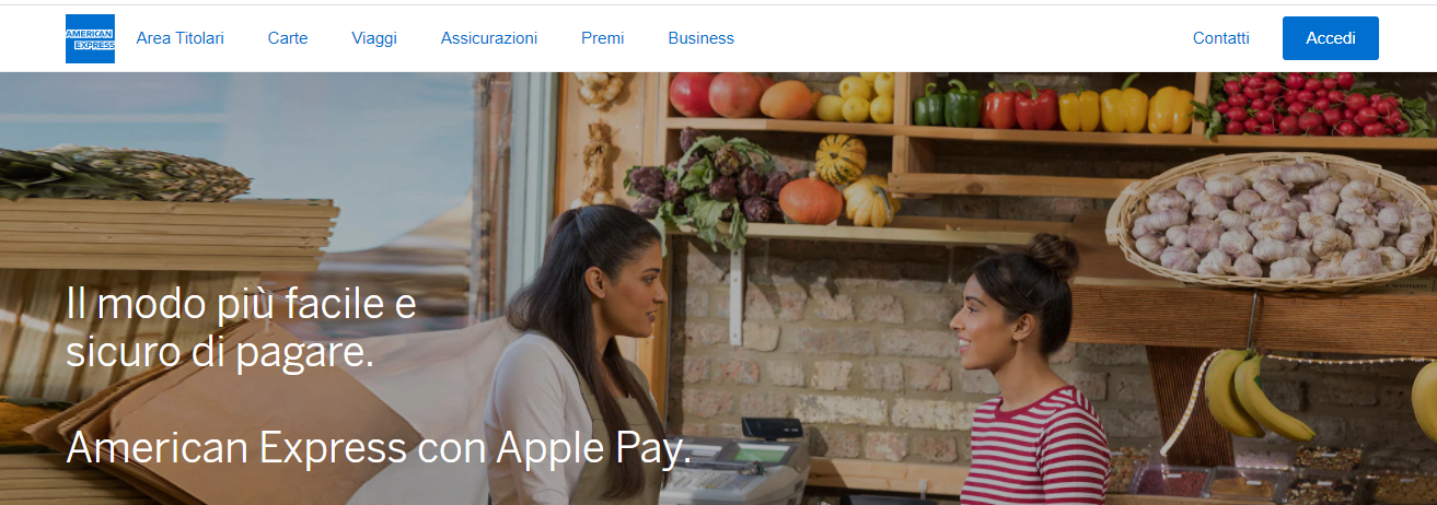 american express apple pay