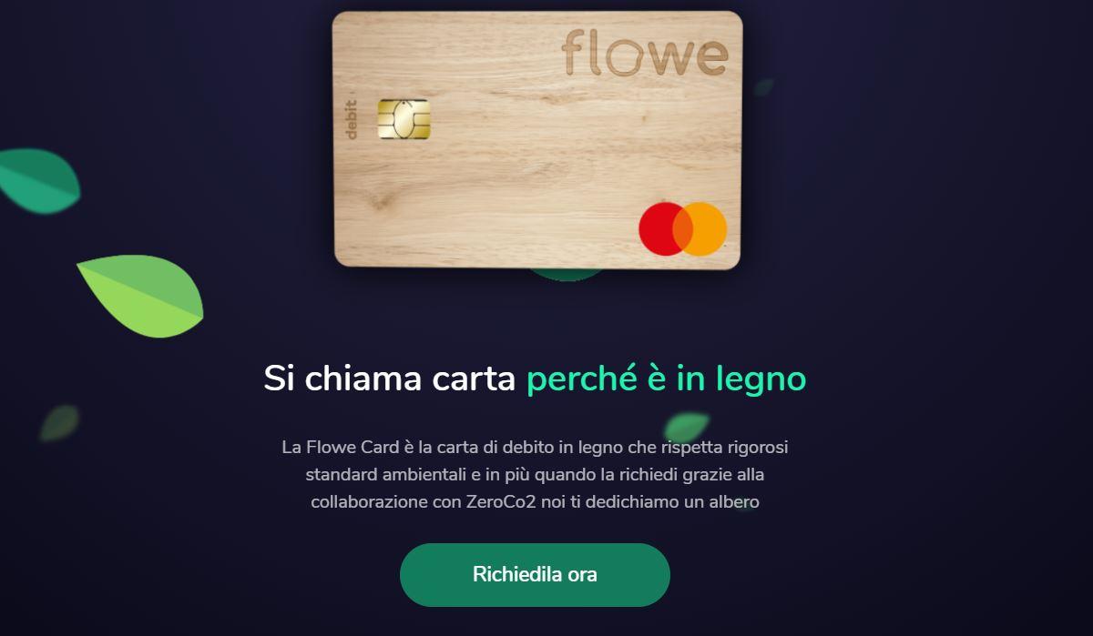 carta bancomat flowe