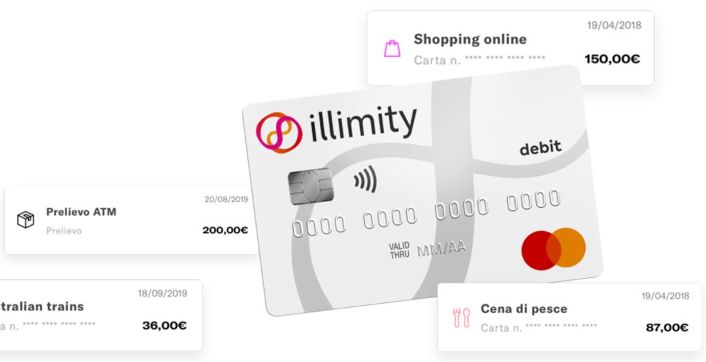 carta bancomat illimity bank