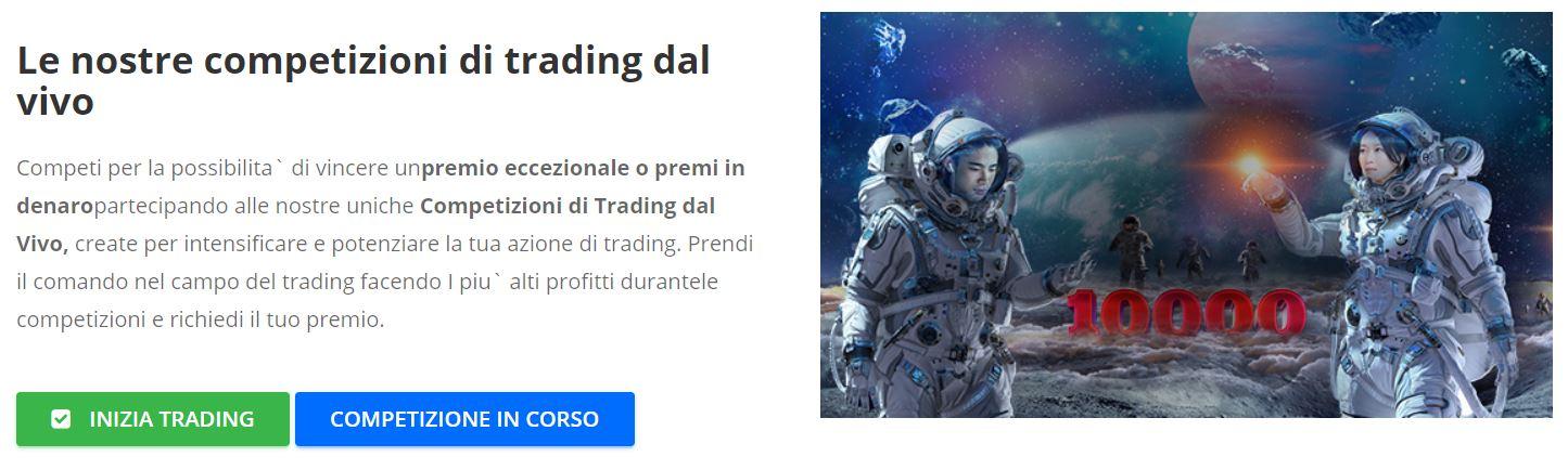 competizioni trading ironfx