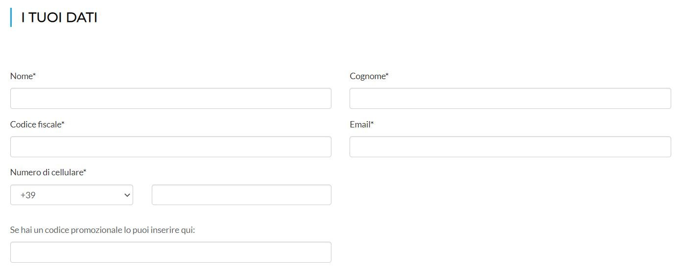 conto websella registrazione