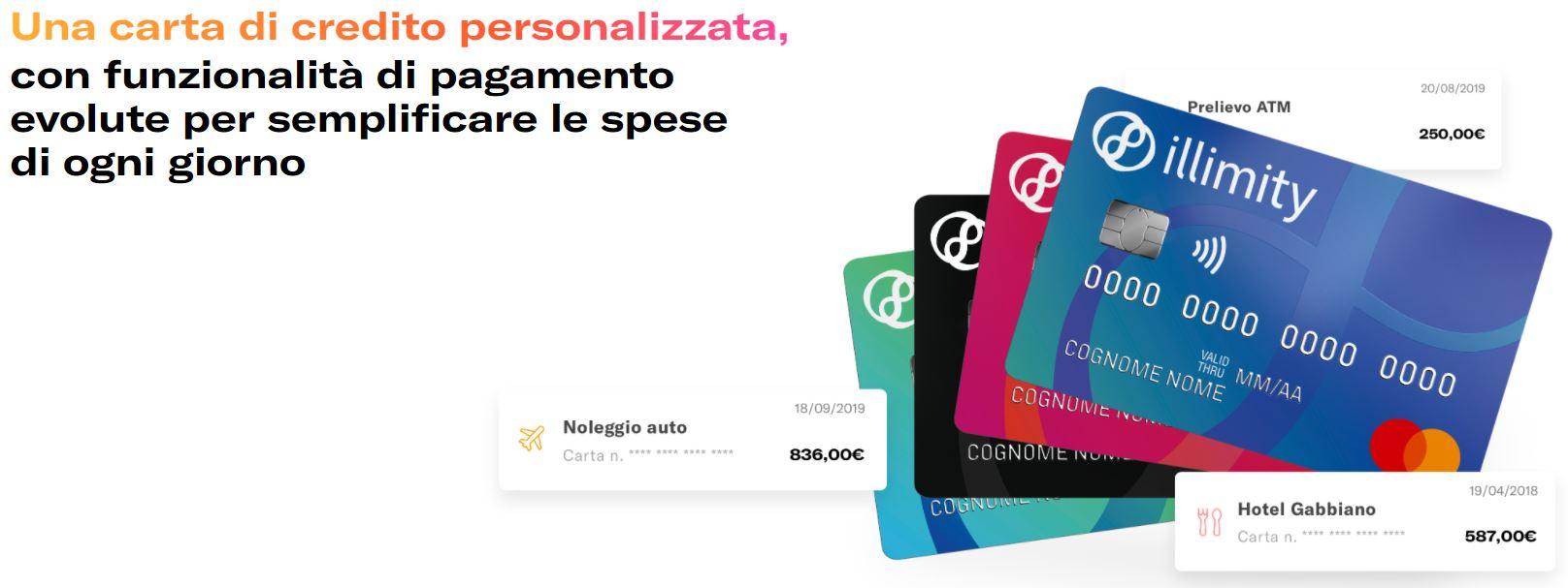cos'è carta di credito contactless