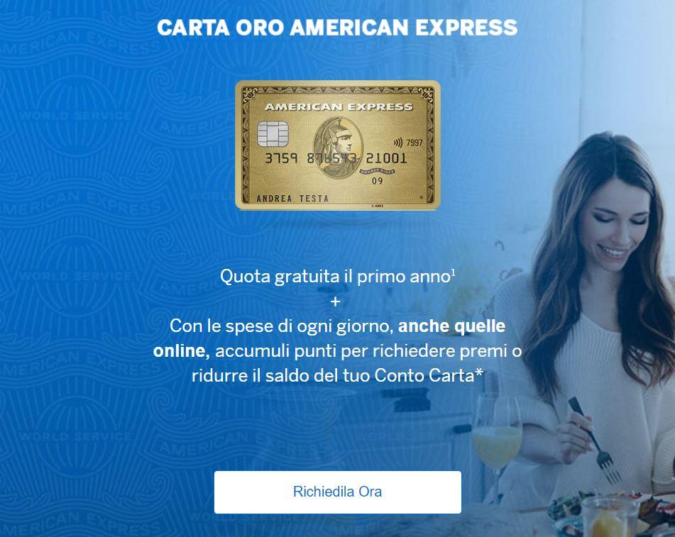 richiedere carta di credito online