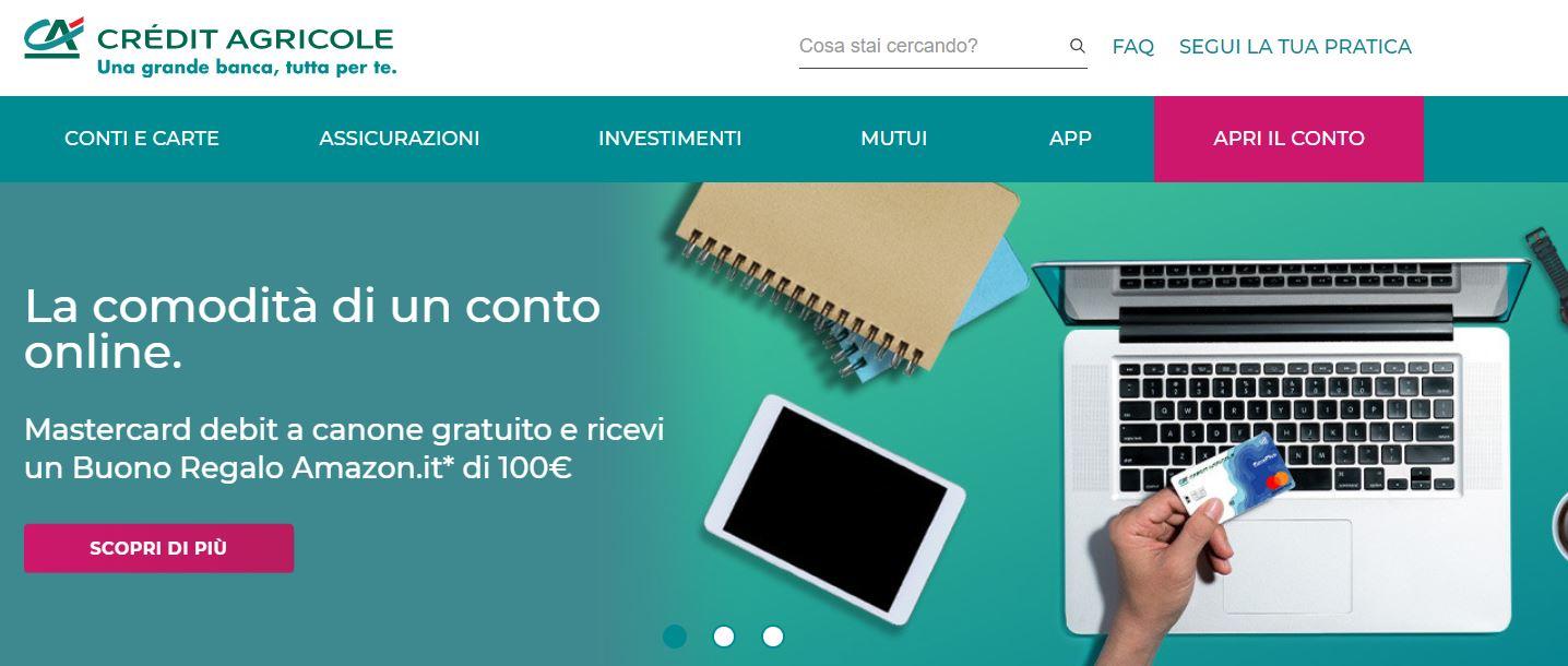 aprire conto corrente online senza spese