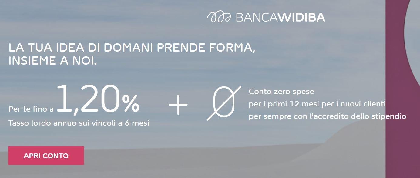 aprire un conto corrente online